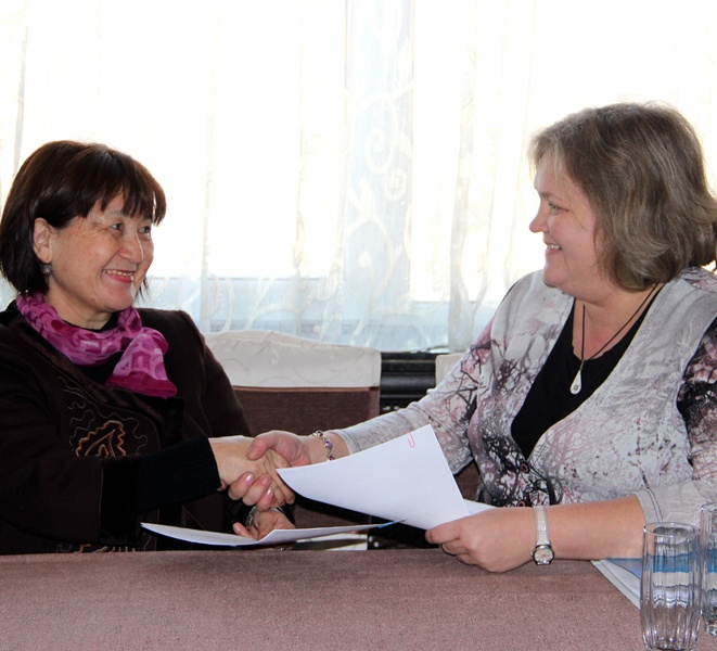 Memorandum of cooperation - joint work in LSG field