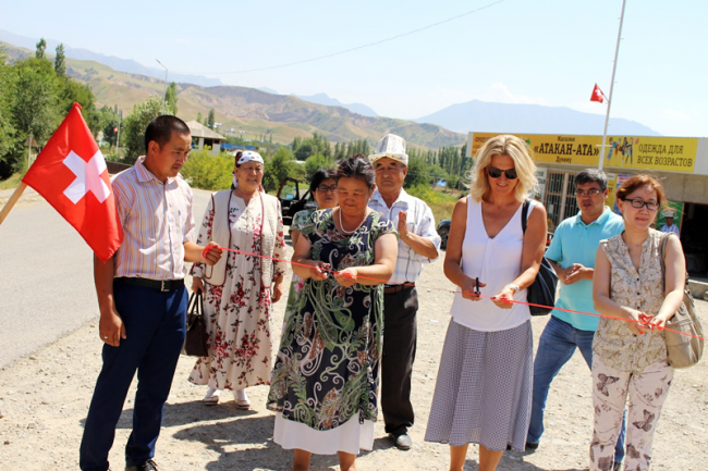 Street lights are installed on the central streets of two villages of Zhany-Zhol Ayil Aimak of  Aksy district