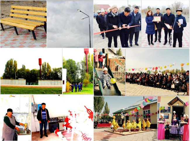 On October 11-12, 2018 the opening ceremonies of improved services took place in Balykchy, Aral AA and Lipenka AA of the Issyk-Kul region