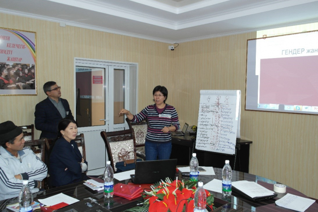 PSI held trainings on socially inclusive and gender-responsive approaches